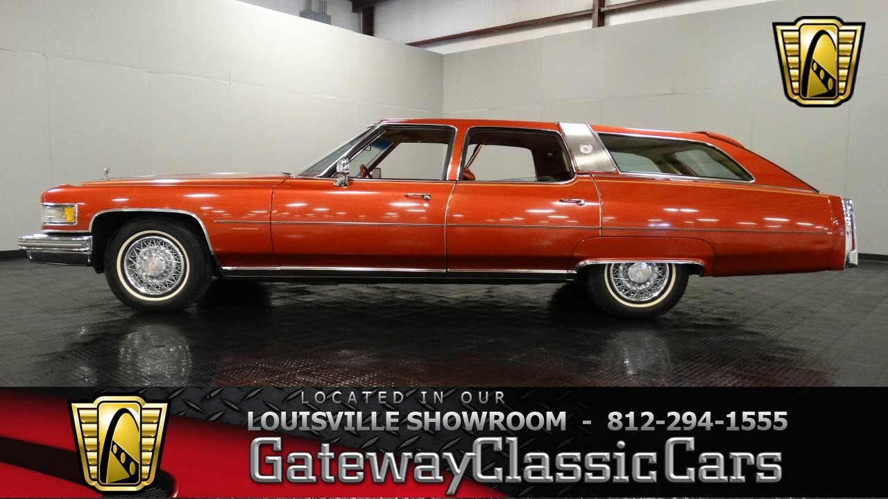 1976 Cadillac Castilian Estate Wagon Stock 898 Youtube