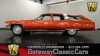 1976 Cadillac Castilian Estate Wagon - Stock # 898