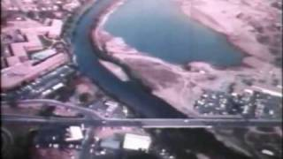 1970 Boise River Greenbelt aerial video narrated by Bill Onweiler