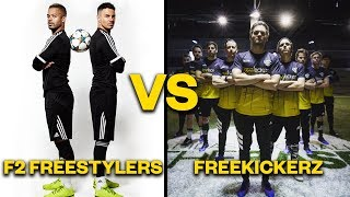 The F2 Freestylers vs. Freekickerz: who are the best?