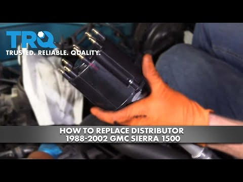 How to Replace Distributor 1988-02 GMC Sierra 1500