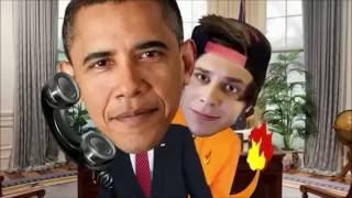 La discusión entre Obama y Elrubius