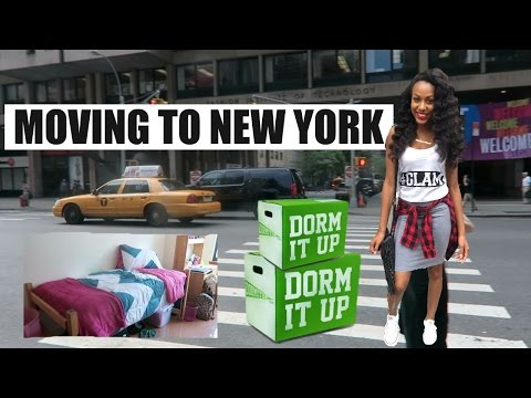 MOVING TO NEW YORK | STUDYING AT THE FASHION INSTITUTE OF TE