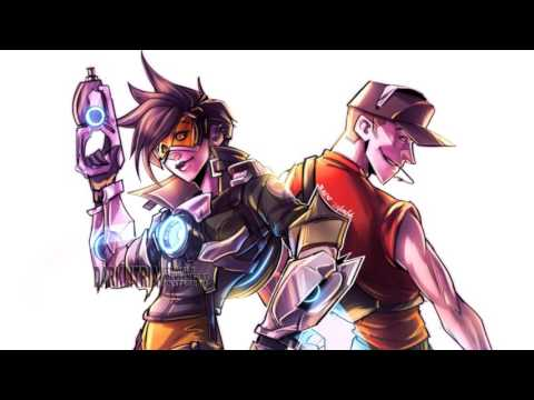 Nightcore - Tracer vs Scout Rap Battle