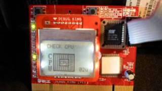 Pc Analyzer Placa de Diagnóstico LCD Multi Função Teste em notebook e desktop