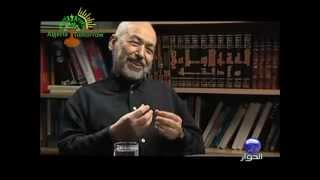 Ghannouchi parle de Malek Bennabi شهادة راشد الغنوشي حول مالك بن نبي