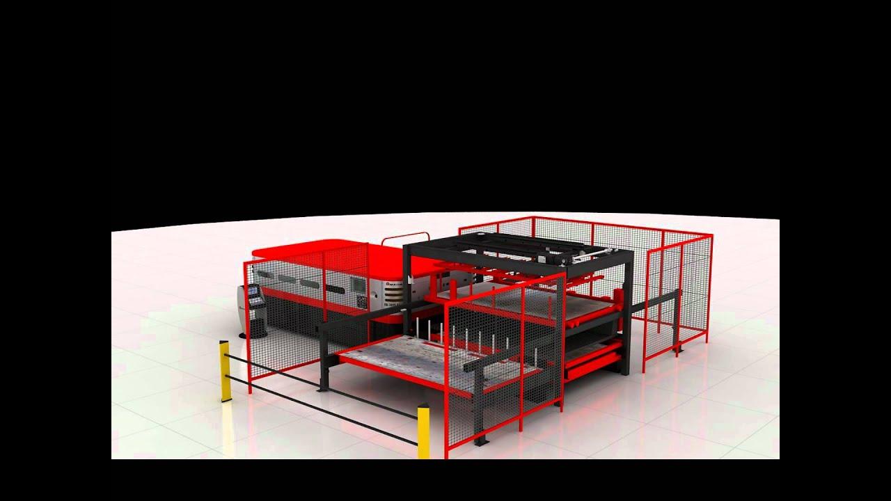 Amada laser automation