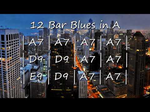 Blues Backing Track in A  for Soloing