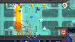 Kirby's Epic Yarn - Moon Base