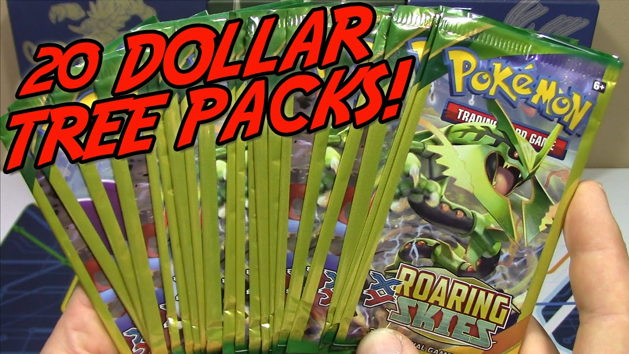 Pokemon Cards Opening 20 Roaring Skies Dollar Tree Packs Shaymin