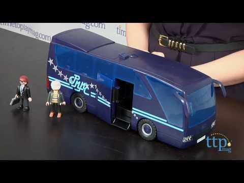 Popstars tour bus from playmobil youtube - Autocar playmobil ...