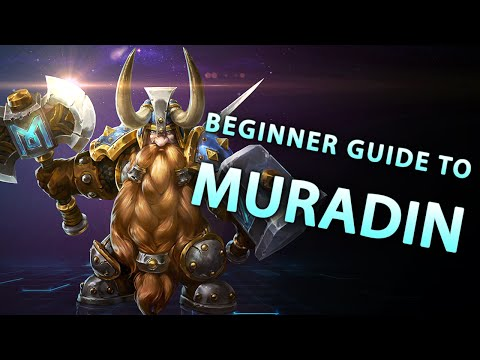 Beginner Guide to Muradin (Heroes of the Storm build)
