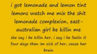 Lemonade gucci mane with lyrics