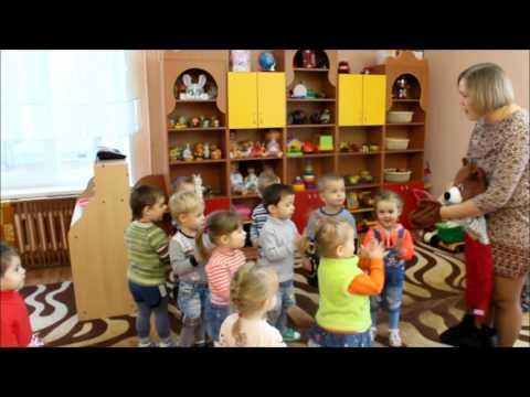 """Утренняя гимнастика в первой младшей группе """"Почемучки"""" 2016 год"""