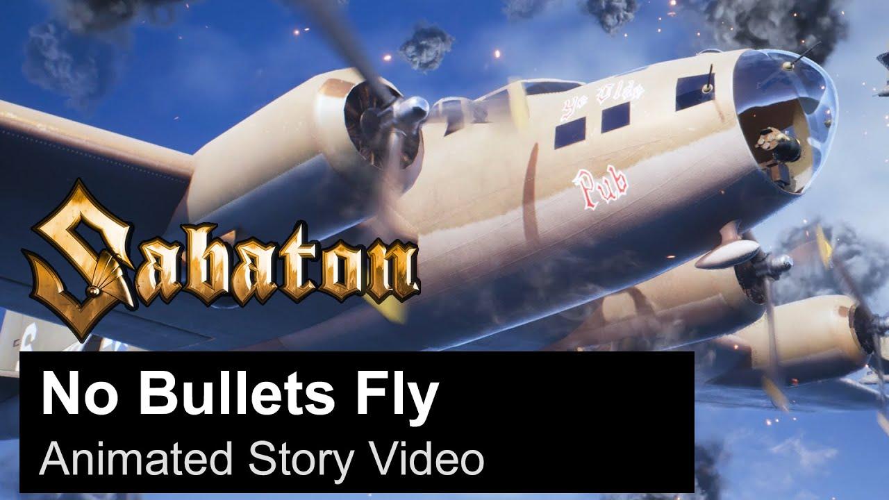 SABATON: Comemora 1 milhão de inscritos no YouTube com animação para a musica 'No Bullets Fly'