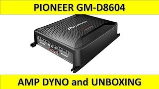 pioneer GM-d8604 4 Channel Amp