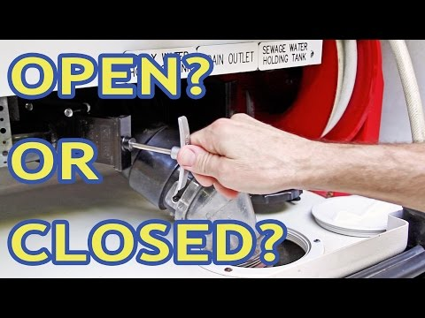 Keep Your RV Gray Tank Open? Closed? How About BOTH?!