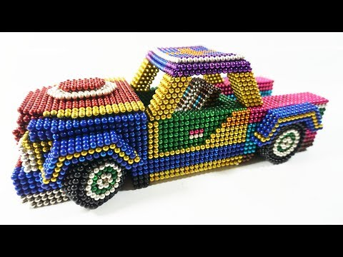 DIY - How To Make Car With Magnetic Balls H2 STUDIO