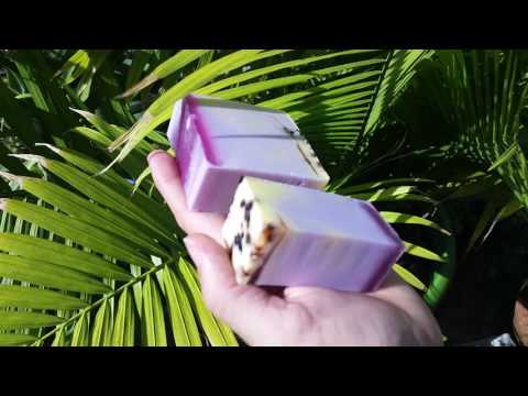 Hawaiian Hibiscus soap by DeShawn Marie