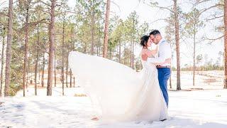 Sunrise Winter Wedding | Garden of the Gods | Colorado Springs (FULL HIGHLIGHT)