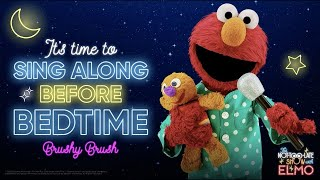 Brushy Brush Lyric Video feat. Jonas Brothers | The Not-Too-Late Show with Elmo