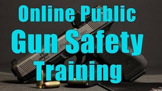 Online Public Gun Safety Training-Handgun Basic Fundamental Sk…