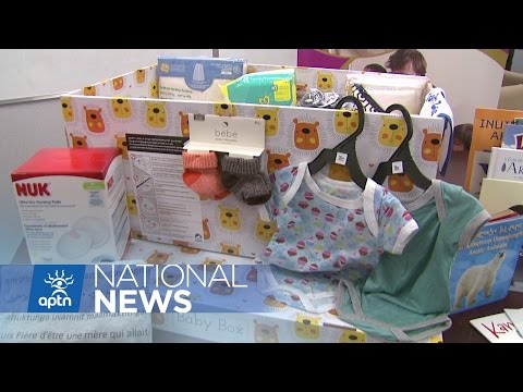 Nunavut Hopes To Lower Infant Mortality By Using Baby Box | APTN News