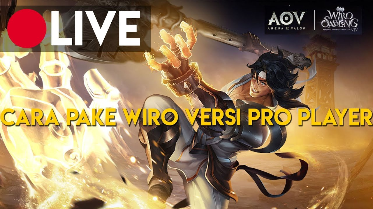 Live Streaming Aov Indonesia Valor Tv Replay Pro Player Gameplay