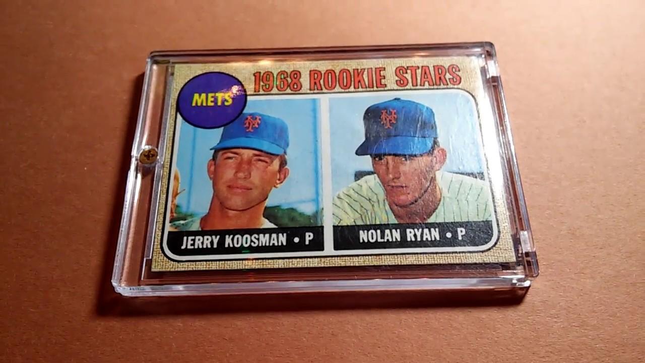 Nolan Ryan 1968 Rookie Stars Topps 177