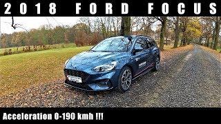 2018 Ford Focus 1.5 TDCi 120 HP Acceleration / Przyspieszenie 0-190 km/h