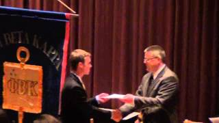 Phi Beta Kappa Honor Society