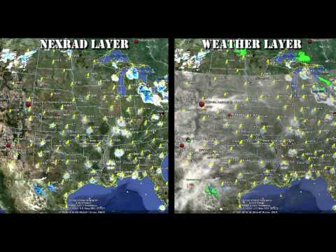 Nexrad Weather Control: Creating Cloud Systems 101