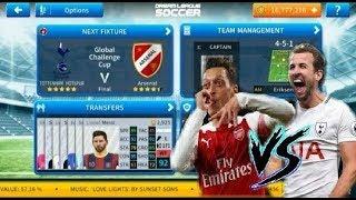 Tottenham Hotspur vs Arsenal Match   Best gameplay