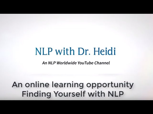 Finding Yourself with NLP
