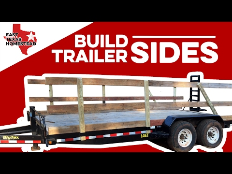 how-to-build-wood-sides-for-utility-trailer-|-diy-homesteading-videos-|-#easttexashomestead