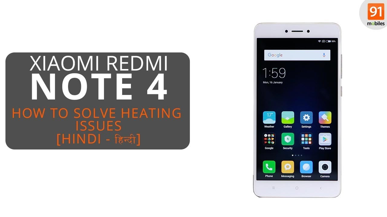 Xiaomi Redmi Note 4 Tips And Tricks: How To Solve Xiaomi Redmi Note 4 Heating Issues [Tips And