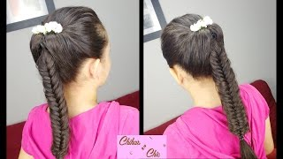 Flipped Fishtail Braid | Prom Hairstyles | Braided Hairstyles | Easy Hairstyles