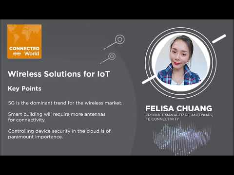 Wireless Solutions for IoT Applications   CONNECTED World