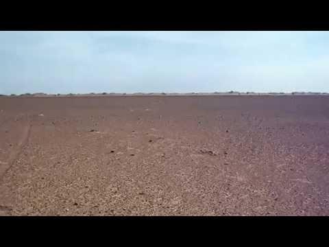 Vue à 360° dans le désert de Mhamid - Seul au monde ;-) !? - Maroc