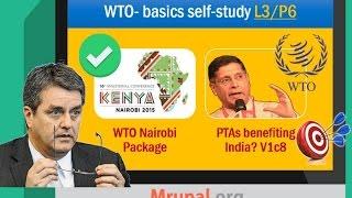 BES163-P5: WTO-Nairobi Summit, Special Safeguard Mechanism (SSM), ITA, Agri Export Subsidies