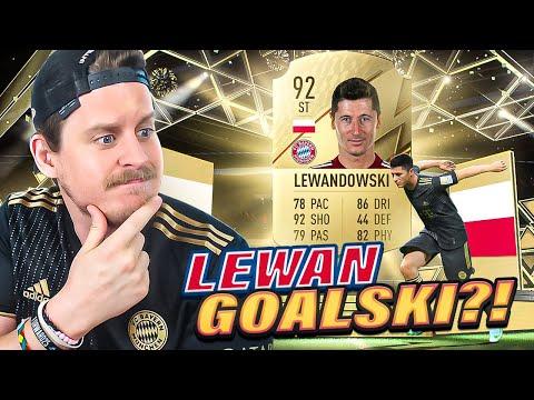 IS HE GOOD IN FIFA 22?! 92 LEWANDOWSKI PLAYER REVIEW! FIFA 22 Ultimate Team