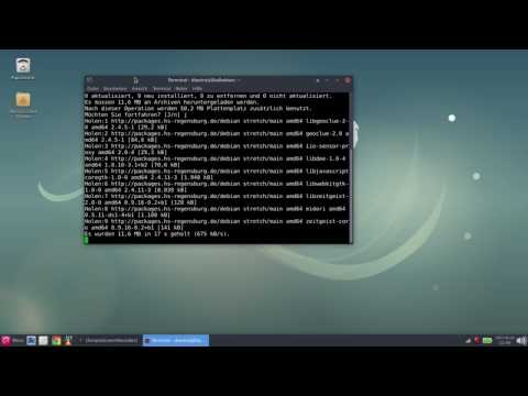 Debian 9 stretch XFCE - A first look during the freeze