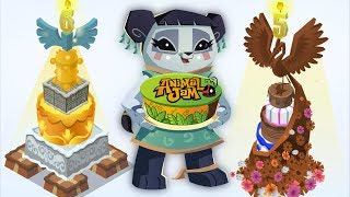 Every Animal Jam Birthday Cake Trick!