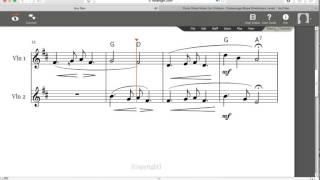 Violin Duet- Suo Gan (Welsh Lullaby) - Easy Violin