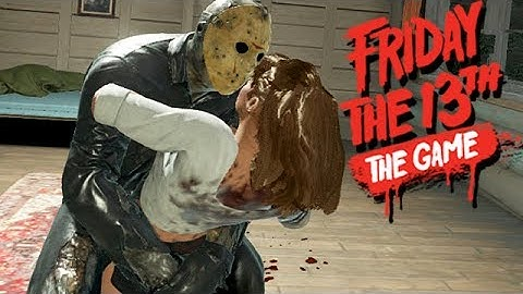 Friday The 13th The Game Gameplay German - Hart verzockt mit Jason