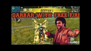 DARBAR chumma kizhi song tamil with Free fire