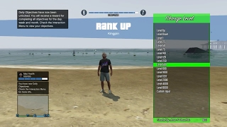 GTA 5 MODDING ACCOUNTS #16   RANK, MONEY, ALL MODDED OUTFITS, MODDED ROLL, MAX STATS  