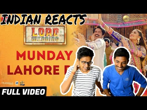 Indian Reacts To :- MUNDAY LAHORE DE | LOAD WEDDING
