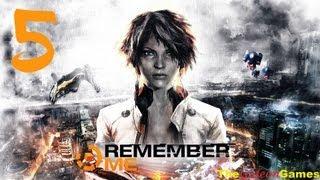 Прохождение Remember Me HD Часть 5 Эпизод 3 Выход на глубину 2