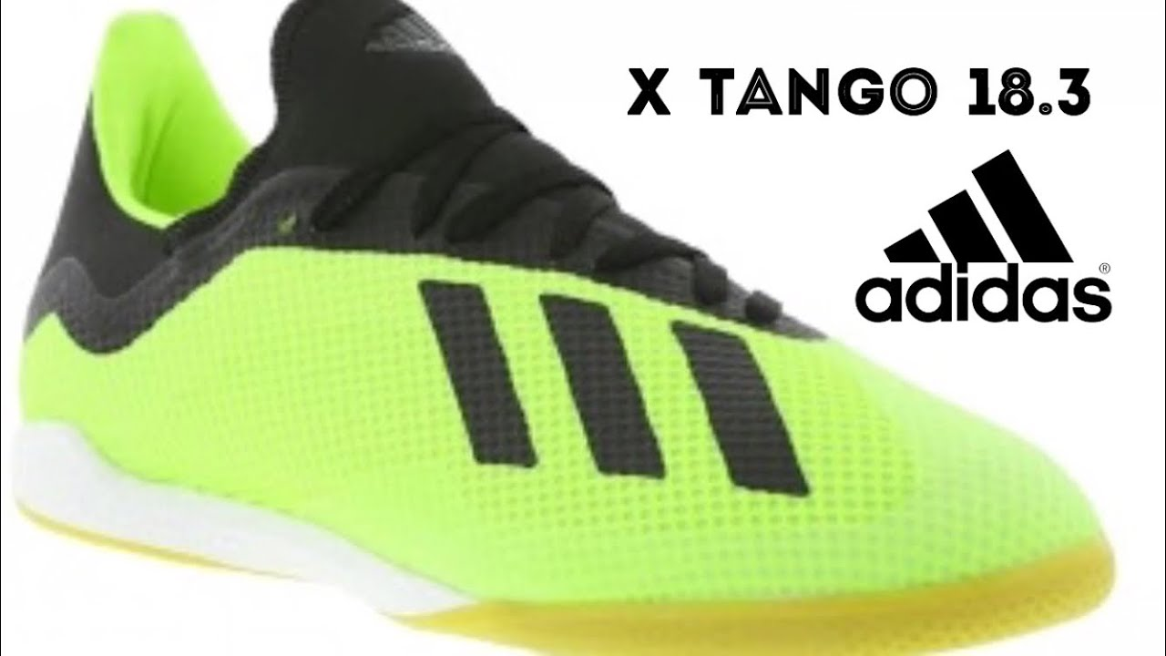 c4e13a210d Review Adidas X Tango 18.3 - YouTube